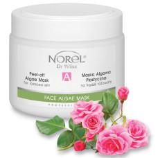 Альгинатная маска для кожи с розацеа