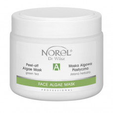 Альгинатная маска с зелёным чаем для всех типов кожи,  особенно для жирной и комбинированной