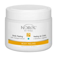 Кремовый пилинг для тела с экстрактом календулы для всех типов кожи